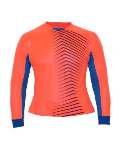 WOMEN'S AURA GK JERSEY CRIMSON/BLUE