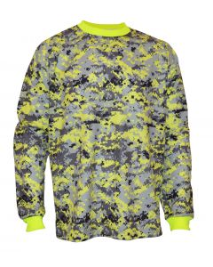 DECEPTOR CAMO GK JERSEY YELLOW/GREY/BLACK