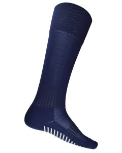 V GRIP LONG SOCK NAVY