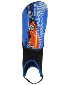 RACER BLUE/RED SHINGUARD
